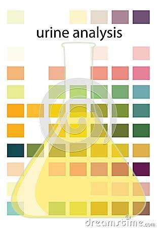 De Analyse Van De Urine Royalty Vrije Stock Afbeeldingen