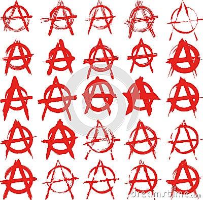 De anarchie van het teken