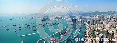 De antenne van Hongkong
