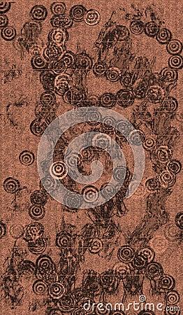 De antieke aziatische stof van het behang royalty vrije stock afbeelding beeld 4169886 - Behang grafisch ontwerp ...