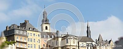 De architectuur van Luxemburg