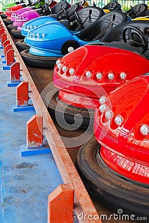 De auto s van de bumper