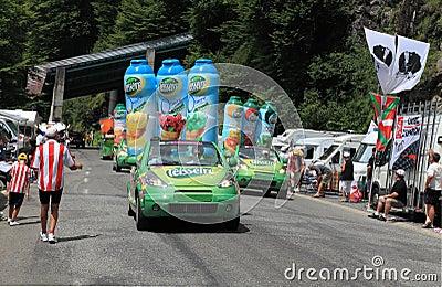 De auto s van Teisseire Redactionele Stock Foto