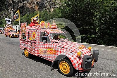 De auto van Cochonou Redactionele Afbeelding
