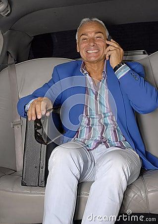 De auto van de zakenman.