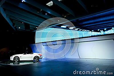 De auto van het concept Redactionele Stock Afbeelding