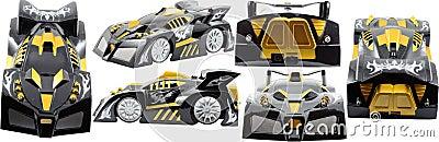 De Auto van het stuk speelgoed