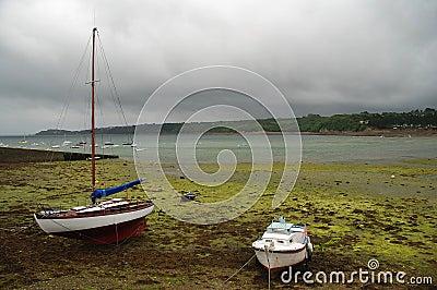 De baai van Brest, Bretagne, Frankrijk