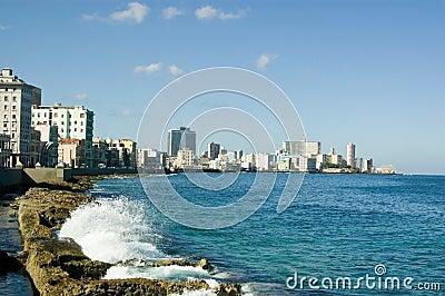 De Baai van Havana, Cuba