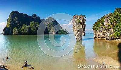 De Baai van Nga van Phang, Thailand