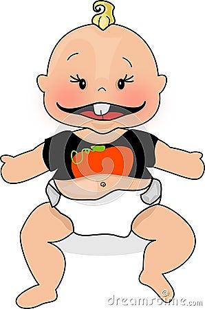 De Baby van de pompoen