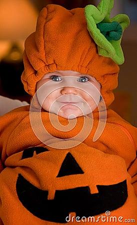 De baby van Halloween