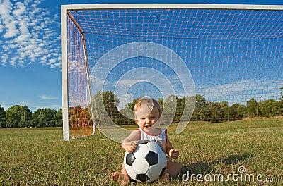 De baby van het voetbal