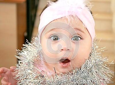 De baby van Kerstmis
