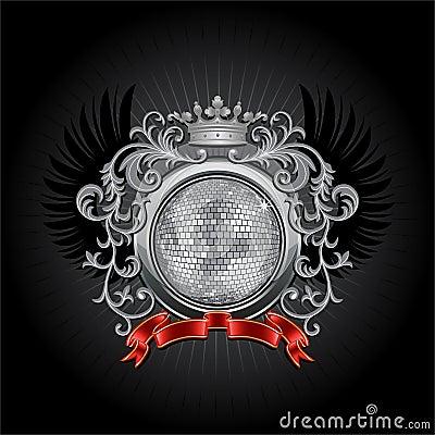 De bal van de disco