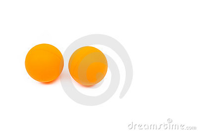 De bal van de pingpong