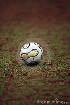 De bal van de voetbal