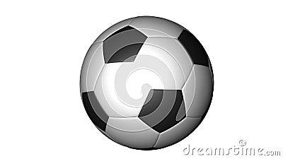 De bal van het voetbal vector illustratie