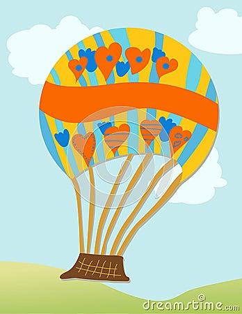 De Ballon van de hete Lucht