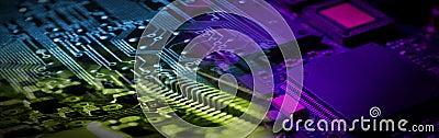 De Banner van de elektronika