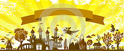 De banner van Fairytale