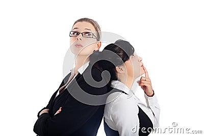 De bedrijfs vrouwenconcurrentie