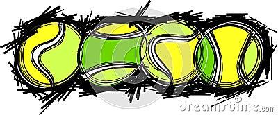 De Beelden van de Bal van het tennis