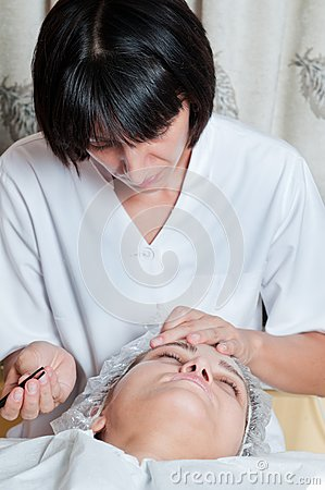 De behandeling van het gezicht