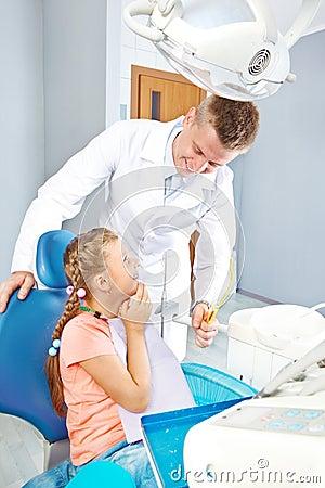 De behandeling van tanden