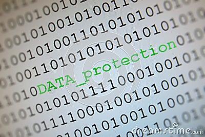 De bescherming van gegevens
