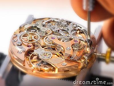 De Beweging van het Horloge van Chronographe - Valjoux 23
