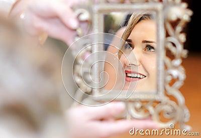 De bezinning van de spiegel
