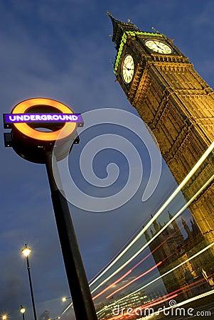 De Big Ben Redactionele Stock Foto