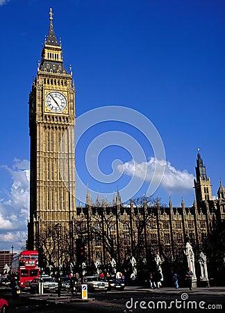De Big Ben in Londen
