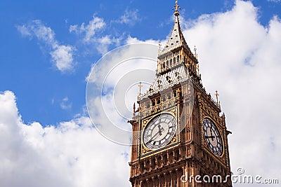 De Big Ben van Londen