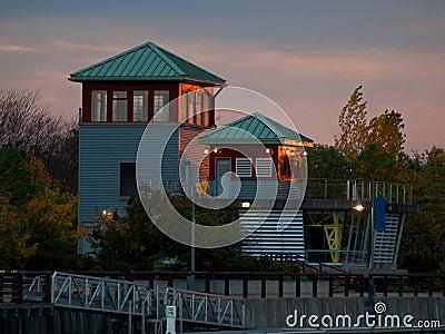 De binnenhaven van Syracuse