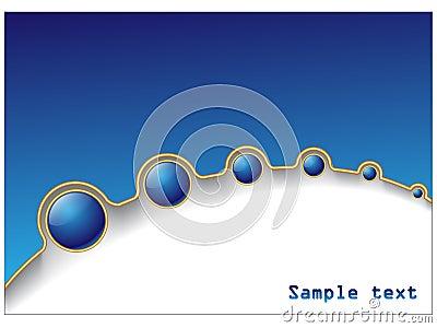 De blauwe bal verdwijnt langzaam