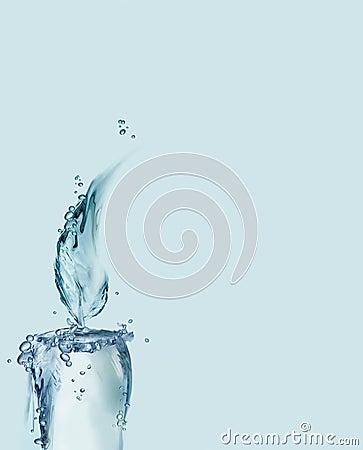De blauwe Kaars van het Water