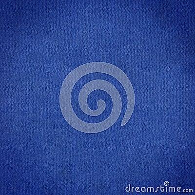 De blauwe stof van de doek