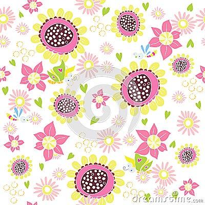 De bloemen van de pret