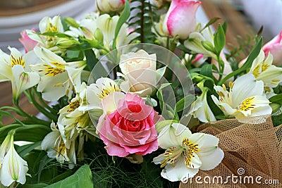 De bloemen van het huwelijk