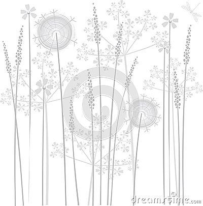 De bloemen van het moeras