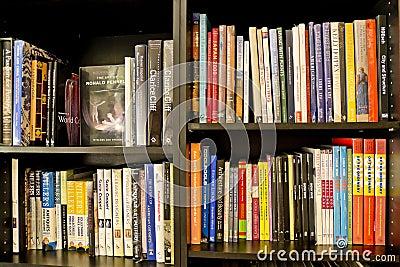 De Boeken van de architectuur Redactionele Stock Afbeelding