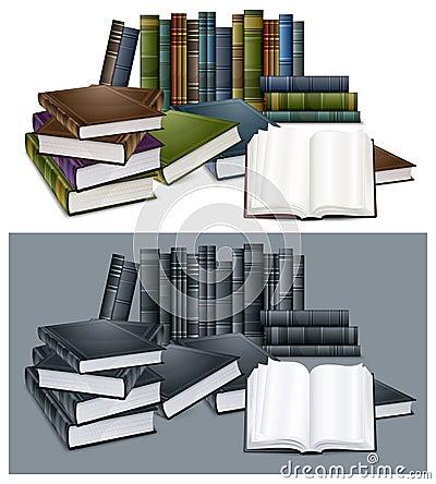 De boeken van de bibliotheek