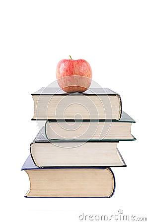De boeken zijn het voedingsmiddel van het mensdom
