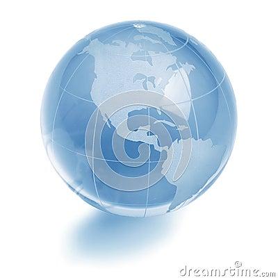 De bol van het glas