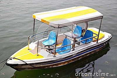 De boot van de recreatie