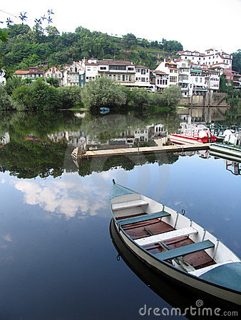 De boot van de rivier