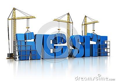 De bouw van de website