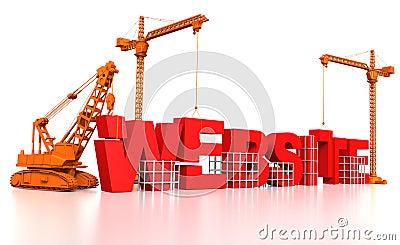 De bouw van een Website